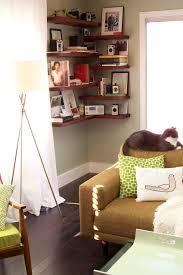 corner furniture for living room. Living Room, Corner Furniture Shelves Brown Wall Mounted Fancy Dark Wooden Shelf White Sleek Tv For Room E