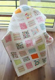 The 25+ best Modern baby quilts ideas on Pinterest | Baby quilt ... & memory quilt idea Modern Toddler Quilt / baby Quilt / Kid Quilt / Child  Quilt / Boy and Girl Quilt / Pastel Quilt / Quilted play mat / Baby shower  gift Adamdwight.com