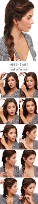 Easy Hairstyles On The Go 25 Best Ideas About Very Easy Hairstyles On Pinterest Simple