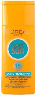 <b>sublime sun</b> - invisilight ultra-light sunscreen lotion ip 15