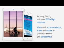 Inx Inflight Mobile For Travel Logistics And Fifo Youtube