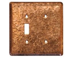 2 gang toggleblank copper switch plate cover copper light switch plates g0