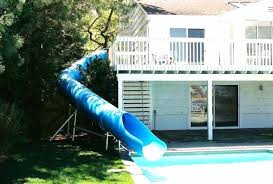 in ground pools with slides. Above Ground Pool Water Slide Commercial Slides Residential Model Swimming In Pools With