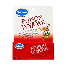 Amazon.com: Hyland's Poison Ivy & Poison Oak Treatment, Natural ...