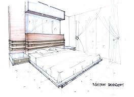 Bedroom Drawing One Point Perspective. Easy To Draw Bedroom Drawing One  Point Perspective Room Worksheet