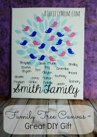 family tree canvas great diy gift