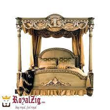 Canopy Bed Frame Full Jasper King Metal Canopy Bed Cheap Full Size ...