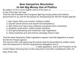 "How To"" On Town Warrant Petitions - Nh Rebellion"