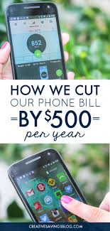 How We Cut Our Phone Bill