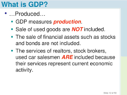 What Is Not Included In Gdp Ppt Chapter 5 Gdp And The Measurement Of Progress