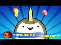 narwhals are awesome silly song jellybug silly songskids songswild krattsnarwhalsarctic sletter a craftscsunicornsjellychildren