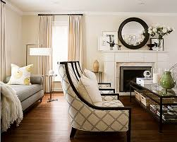 ... Living Room, Elegant Living Rooms With Wooden Table And Wooden Floor  And Fireplace And Sofa ...