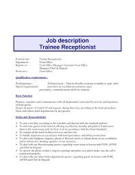 Receptionist Job Resume Receptionist Job Description Issue Icon Resume Duties Marevinho 51