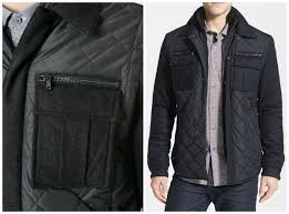 7 Quilted Jackets We Love This Winter & #1 Michael Kors Quilted Mix Media Shirt Jacket Adamdwight.com