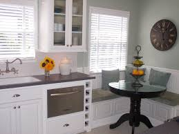 Banquette Bench Kitchen Interior Makes Great Use Of Corner Spaces With Corner Banquette