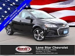Mosaic Black Metallic 2017 Chevrolet Sonic: Certified Car for Sale ...