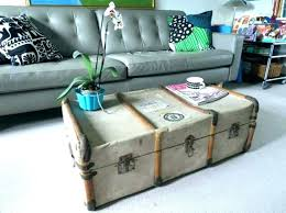 coffee table trunk coffee table trunk chest vintage trunk coffee table chest coffee table trunk living