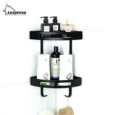 corner bathroom shelves antique black shelf toilet rack stainless steel basket wall unit ikea australia anti