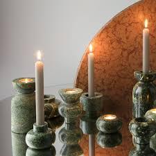 Rock Tea Light Holder Rock Tealight Candle Holder Set Of 3
