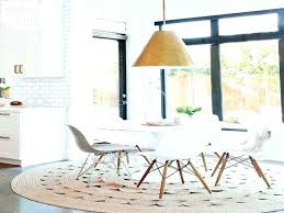 kitchen table rug dining room carpet protector new rug under dining table round rug for under