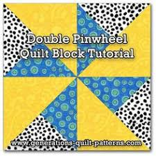 Pinwheel Quilt Block | Pinwheel Quilt Block Patterns | Pinterest ... & Double Pinwheel Quilt Block: 3