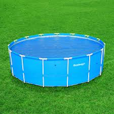 above ground pool solar covers. Bestway Above Ground Round Solar Cover; Pool Covers A