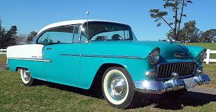 Bautiful California 1955 Chevy BelAir Sport Coupe - Classic ...