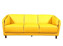 yellow leather couch er furniture sofa yel leather couch colors yellow