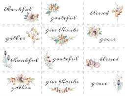 Fall Place Cards Name Place Cards For A Simple Elegant Fall Table My Wee Abode