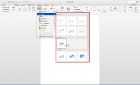 How To Create A Graph In Microsoft Word