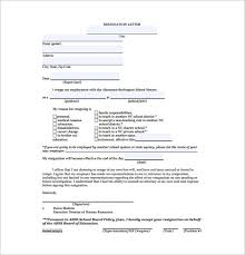 9+ Two Week Notice Resignation Letter Templates - Free Sample ...