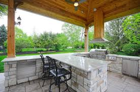 outdoor kitchen vent hood ideas with incredible smoke ventilation