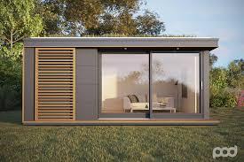 prefabricated garden office. Pod Space: Garden Prefab Getaways Prefabricated Office O