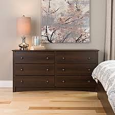 Prepac Fremont 6 Drawer Dresser EDC6330K Easy To Assemble Dresser Y40