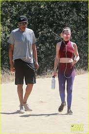 Ellen Pompeo Husband Ellen Pompeo Husband Chris Ivery Go Hiking In Los Feliz Photo