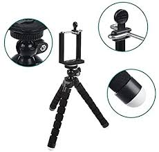<b>Mini Flexible</b> Tripod Cell Phone Tripod Stand <b>Sponge</b> Octopus ...