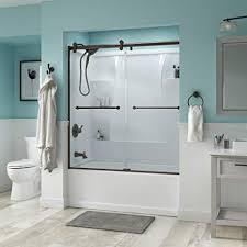 modern sliding glass shower doors. Interesting Modern Delta Shower Doors SD3276666 Linden 60u0026quot SemiFrameless Contemporary  Sliding Bathtub Door In Bronze For Modern Glass R