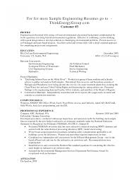 Beautiful Chemical Engineering Resume No Experience Photos Entry