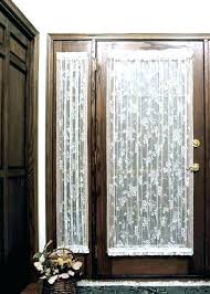 entryway door curtains side curtain front rod window rods exterior where to