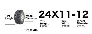 Quad Tire Size Chart Atv Tire Size Guide And Lug Pattern For Every Model Atv