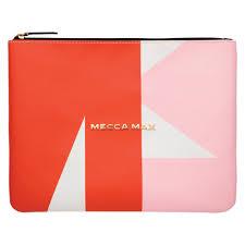 mecca max makeup bag large