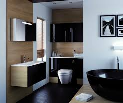 gloss gloss modular bathroom furniture collection. Breathtaking Black Gloss Bathroom With A Elegant Contrasting White Lustre Solid Worktop. In The Vogue Modular Furniture Collection N