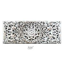 white carved wood wall art carved wood wall art white best of hand carved lotus wall white carved wood wall art