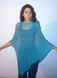 Free Knitted Poncho Patterns Amazing Ideas