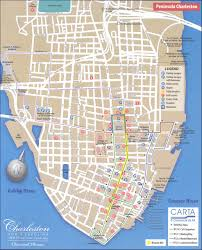 map of downtown charleston