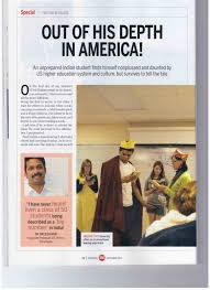 authentic journeys  thank you for sharing your real life culture shock experience brijesh which was published in careers 360 a reputed national magazine in