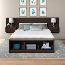 king platform storage bed. Kingfisher Lane King Platform Storage Bed With Floating Headboard King Platform Storage Bed