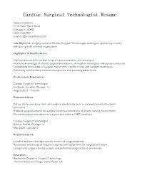 Medical Technician Resume Englishor Com