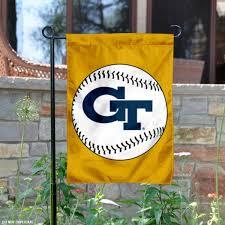 georgia tech baseball garden flag