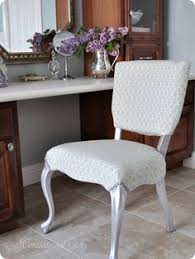 how to reupholster a chair silver leaf vanity chair find this pin and more on upholstery fabrics and ideas